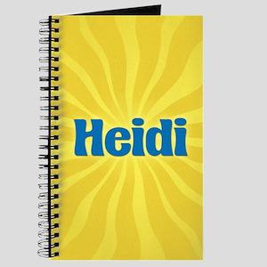 Heidi Sunburst Journal