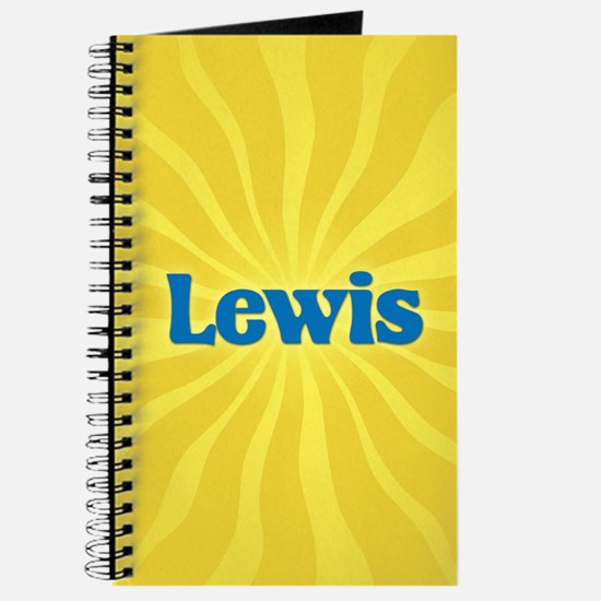 Lewis Sunburst Journal