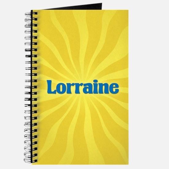 Lorraine Sunburst Journal