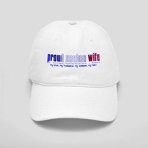 Proud Seabee Wife Cap