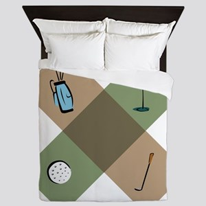 Golf Icon Queen Duvet