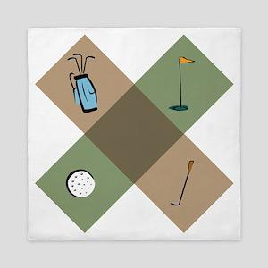 Golf Icon Queen Duvet