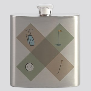 Golf Icon Flask
