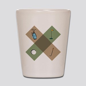 Golf Icon Shot Glass