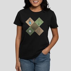Golf Icon Women's Dark T-Shirt