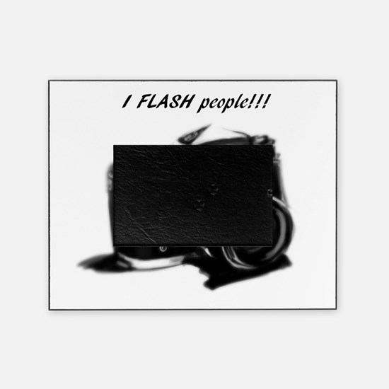 I flash people Picture Frame