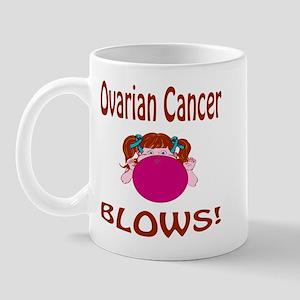 Ovarian Cancer Blows! Mug