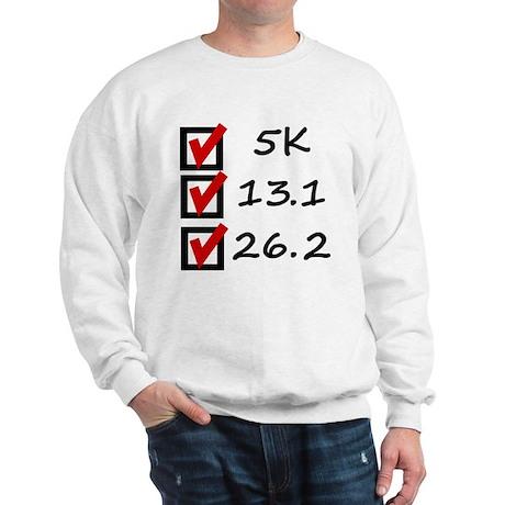 Race Checklist Sweatshirt