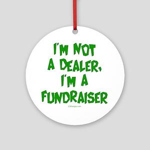 Dealing Fundraiser Ornament (Round)