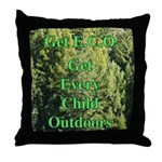 Get ECO Green Throw Pillow