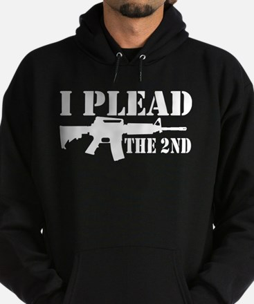 I Plead the 2nd Hoodie (dark)
