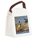 Mallard Flight Canvas Lunch Bag