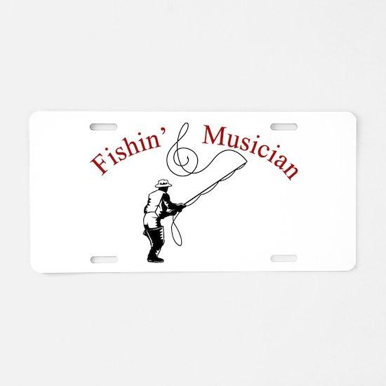 Funny Musician Aluminum License Plate