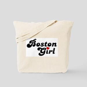 Boston Girl Tote Bag