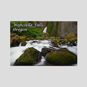 Wahclella Falls Rectangle Magnet
