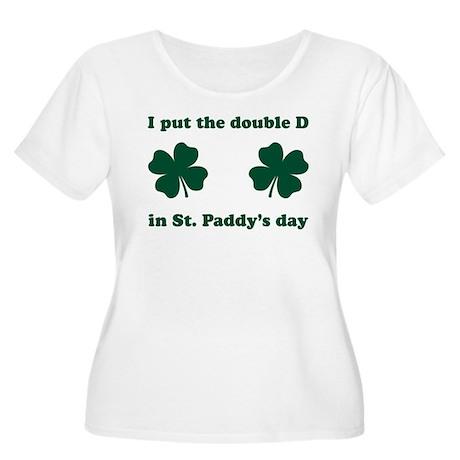 St. Paddy's Double D Women's Plus Size Scoop Neck