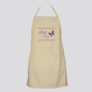 10th Anniversary (Butterfly) Apron