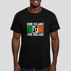 One Ireland, United Men's Fitted T-Shirt (dark)