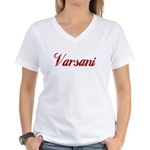 Varsani name Women's V-Neck T-Shirt