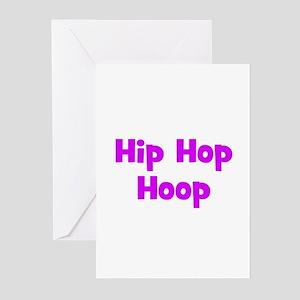 Hip Hop Hoop Greeting Cards (Pk of 10)