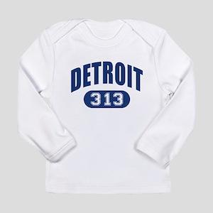 Detroit 313 Long Sleeve Infant T-Shirt