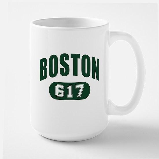 Boston 617 Large Mug