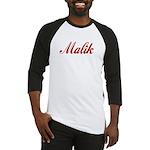 Malik name Baseball Jersey