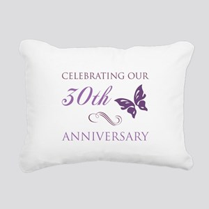 30th Anniversary (Butterfly) Rectangular Canvas Pi
