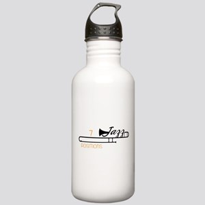 7 Positions Stainless Water Bottle 1.0L