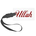 Ullah name Large Luggage Tag