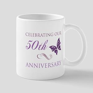 50th Anniversary (Butterfly) Mug