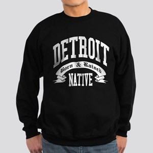 Born in DETROIT Sweatshirt (dark)