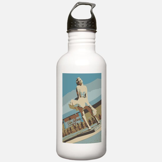 Palm Springs California Water Bottle