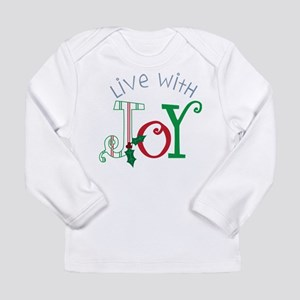 Live With Joy Long Sleeve Infant T-Shirt