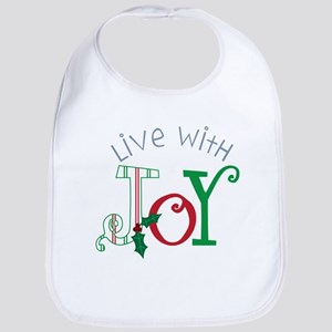 Live With Joy Bib