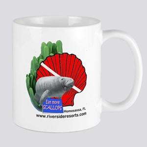 This doubles as manatee and scallop gear Mug