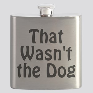Not the Dog Flask