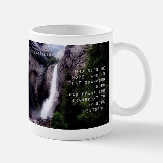 Who Bids Me Hope - George Lyttelton Mug