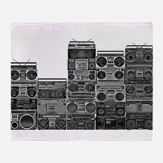BOOMBOX COLLECTION Throw Blanket