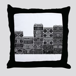 BOOMBOX COLLECTION Throw Pillow