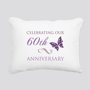 60th Anniversary (Butterfly) Rectangular Canvas Pi