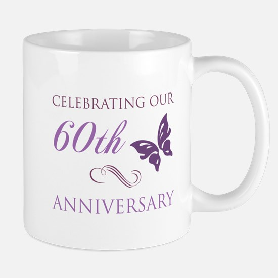 60th Anniversary (Butterfly) Mug