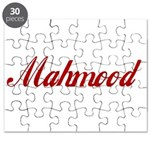 Mahmood name Puzzle