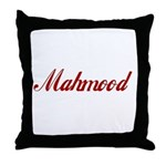 Mahmood name Throw Pillow