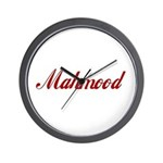 Mahmood name Wall Clock