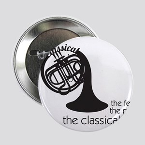"The Classical Horns 2.25"" Button"