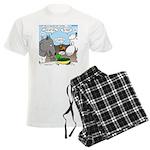 Sheep, Wolf, et al Men's Light Pajamas