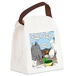 Sheep, Wolf, et al Canvas Lunch Bag
