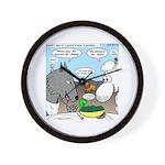 Sheep, Wolf, et al Wall Clock