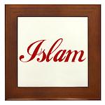 Islam name Framed Tile